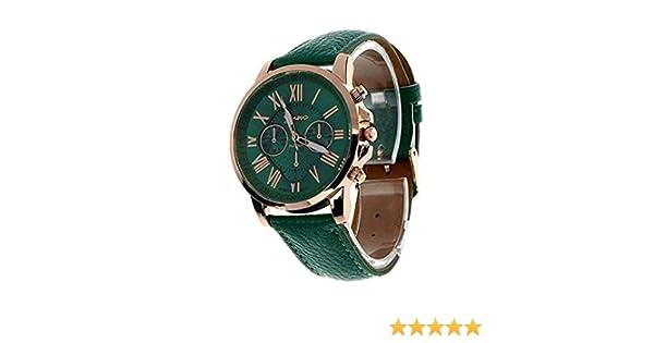 Scpink Relojes de Cuarzo para Mujer, Relojes exclusivos para Mujer de Relojes de señora analógicos Relojes para Mujeres Relojes de Pulsera Casuales ...