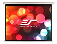 "Elite Screens VMAX2, 106-inch 16:9, 24"" Drop, Electric Motorized Drop Down HD Projection Projector Screen, VMAX106XWH2-E24 by Elitescreens"