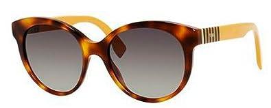5bae646397c Amazon.com  Fendi Sunglasses - 0013 S   Frame  Havana Lens  Gray ...