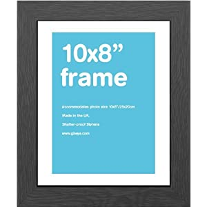 GB eye 10 x 8-Inch MDF Wrapped Frame, Black by GB Eye Limited