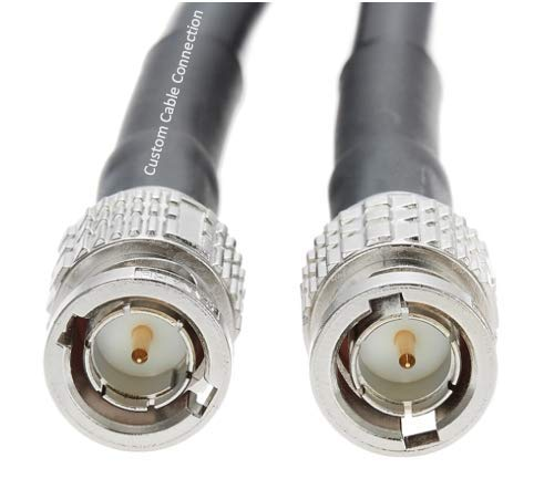 150 Foot HD-SDI RG59 BNC to BNC 3GHZ Canare L-4CFB Cable (75 Ohm) by Custom Cable Connection by Custom Cable Connection (Image #3)