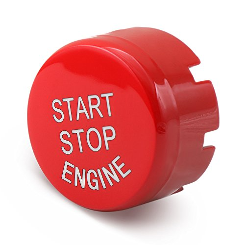 - Sports Red Start Stop Engine Switch Button - 9 MOON Engine Power Ignition Start Stop Button Replacement Fits BMW 1 2 3 4 5 6 7 X1 X3 X4 X5 X6 Series 2010-2016