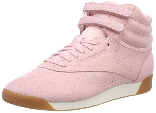 Reebok F/S Hi, Zapatillas Altas para Mujer Rosa (Exoticspractical Pink/Chalk 0)
