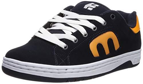 Etnies Men's Calli-Cut Skate Shoe Navy/Orange/White 8 Medium US