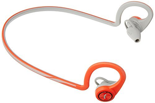 Plantronics BackBeat FIT Wireless Bluetooth Workout Headphones - Waterproof Sports Headphones for Running and Workout, Red, Frustration Free Packaging