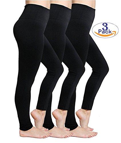 Womens Fleece Lined Leggings High Waist Buttery Soft Winter Best Leggings
