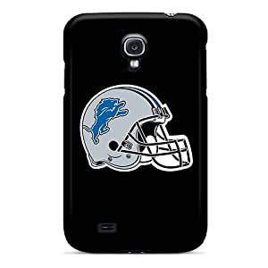 L.M.CASE QES3012AhuZ Case Cover Skin For Galaxy S4 (detroit Lions 6)