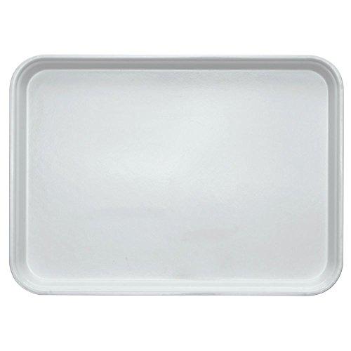 HUBERT Bakery Display Tray Market Tray White Fiberglass - 18