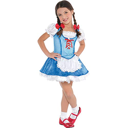 Suit Yourself Dorothy Halloween Costume for Toddler Girls, The Wizard of Oz, 3-4T, Includes Accessories]()