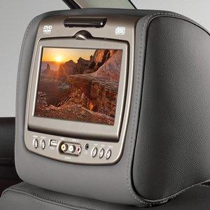 dual head restraint dvd monitors - 5