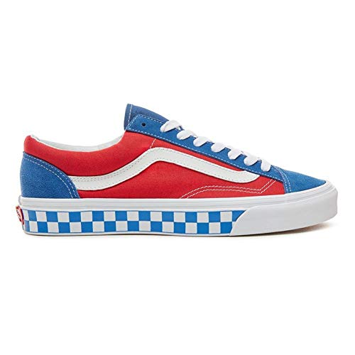Shoes red Blue 36 Size 40 Style Vans Tqw76xZ7