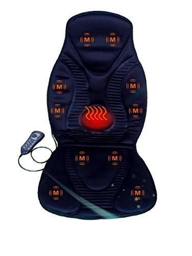 New Five Star FS8812 10-Motor Vibration Massage Seat Cushion with Heat - Neck