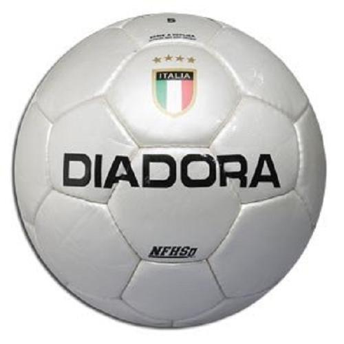 Diadora Serie A R Soccer Ball (White, Size- 5)