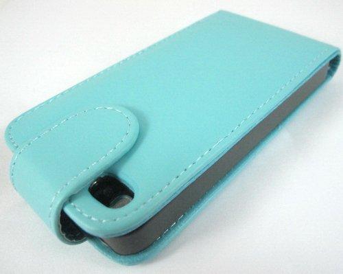 Super Best di Apple iPhone 5 Blue Light 5S copertura di vibrazione PU Custodia in pelle per Apple iPhone 5 5S G5GADGET®