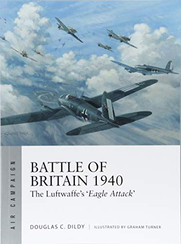 Battle of Britain 1940: The Luftwaffe's 'Eagle Attack' (Air Campaign)