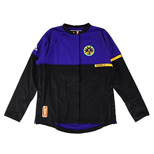 Los Angeles Sparks Wnba - adidas Los Angeles Sparks WNBA Authentic On-Court Team Issued Warm Up Jacket Women
