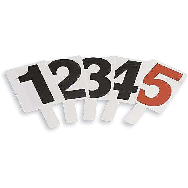 Schiavi Sport – Tablillas para indicar el número de faltas, de PVC ...