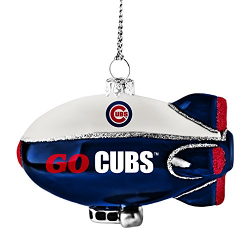 (MLB Chicago Cubs Glitter Blimp Ornament)
