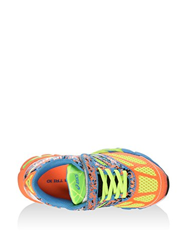 Junior Shoes GEL 10 PS NOOSA TRI-Flash Coral 15/16 Asics azul Naranja / Amarillo / Azul