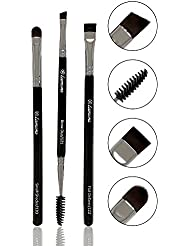 Eyebrow Brush - Duo Eye Brow Spoolie - Angled Eyeshadow...