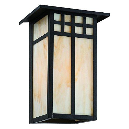 Coleville 1-Light Outdoor Glendale Bronze Wall Lantern