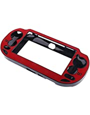 Red Protective Case Wrap Cover for Sony PlayStation ps vita psv-1000 Console