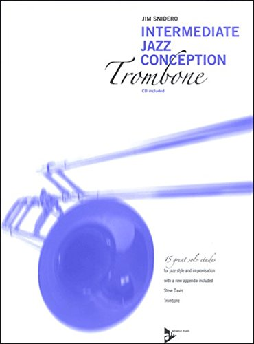 Intermediate Jazz Conception for Trombone Book with CD
