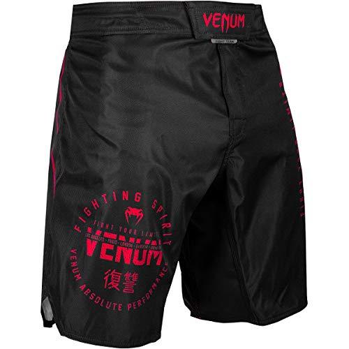 Venum Signature MMA Fight Shorts - Black/Red