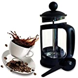 Cafetera. Small French Press. Single Serving French Press Coffee Maker. Comes With A Serving Spoon. Makes A Great Gift.