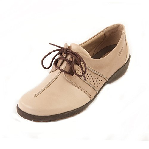 Zapatos mujer Piel de Otra cordones Stone para de Beige Suave d0qT4d