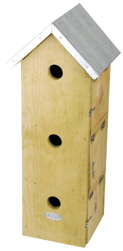 Esschert Design USA NKM Three Story Sparrow Birdhouse