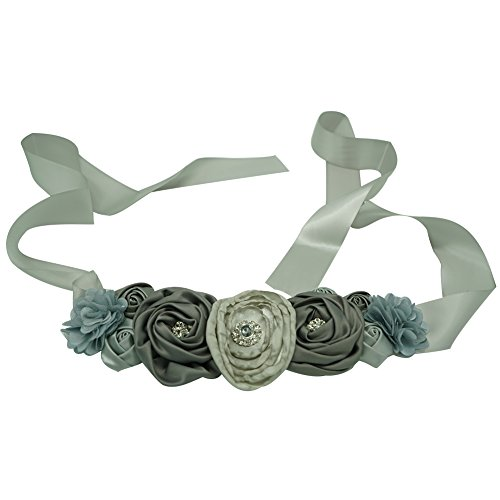 best accessories for grey dress - 3