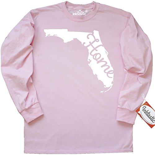 Inktastic florida home Long Sleeve T-Shirt Medium Classic