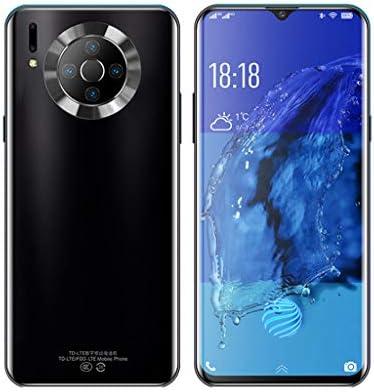 Youliホームストア 携帯電話、K3 Android、ロック解除された4GスマートフォンSIMフリー通話、6.53インチフルスクリーン、4200mAh大容量バッテリー高速充電、8MP 16MPカメラ、6GB 128GB、顔認識、8コア