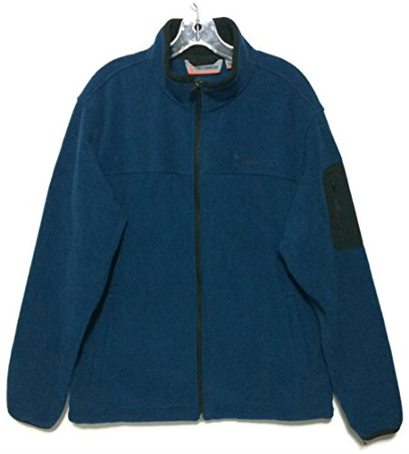Free Country Mens Microtech Full-Zip Fleece Jacket