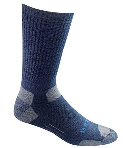 (Moisture Wicking Mid Calf Tactical Uniform Navy Blue Medium Sock 1 Pack)