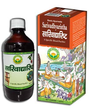 Buy Basic Ayurveda Sarivadyarishta 450ml New Stock