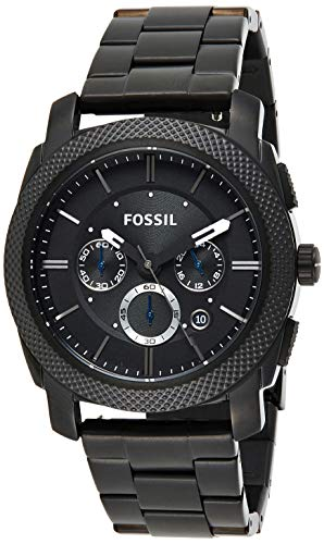 Fossil Mens Chronograph Quartz Watch with Stainless Steel Strap FS4552IE