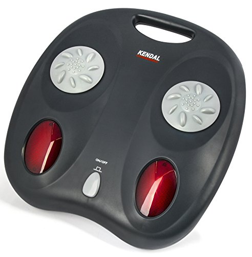 Kendal 2 in 1 Shiatsu Kneading Foot Massager with Far Infrared Heated Therapy FM08A by Kendal