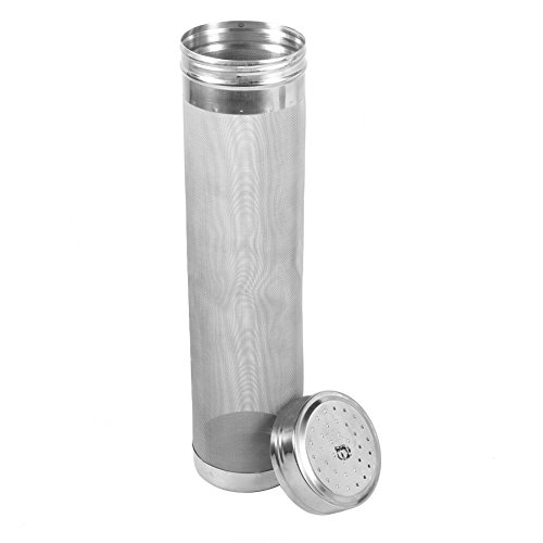 Stainless Steel Homebrew Beer Wine Hopper Filter Strainer 300 Micron Home Kitchen Coffee Bar Accessory