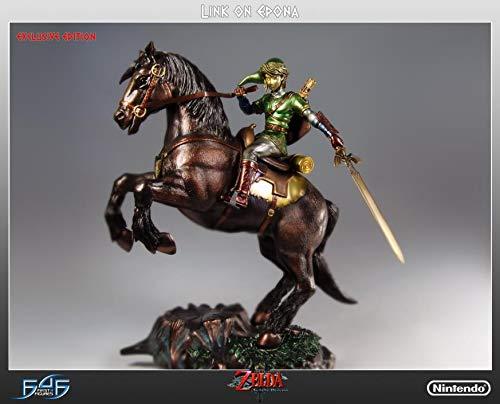 Zelda Link On Epona Exclusive Statue
