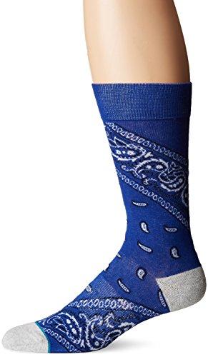 Stance Men's Barrio 2 Socks,Large,Blue