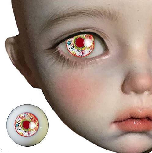 アリスの人形屋1 ペア中国赤 bjd 人形 bjd 人形おもちゃ sd 眼球 1/3 1/4 1/6 14 ミリメートル 16 ミリメートル 18 ミリメートル 20 ミリメートル 22 ミリメートルアクリル目人形