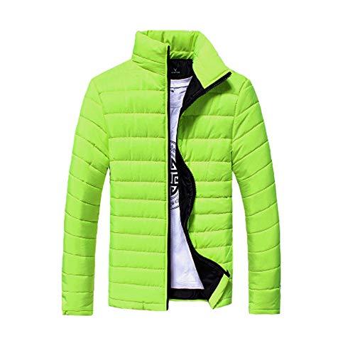 Muranba Clearance Men Stand Zipper Warm Winter Thick Coat Jacket (Men Pants Wool Dress)