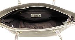 Scarleton Classy Tote Bag H194426 - Silver Grey