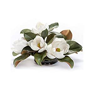 Magnolia Silk Floral Centerpiece 25