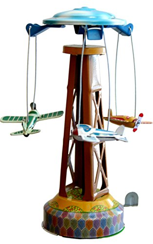 Alexander Taron Importer MM262 Tin Plane Carousel