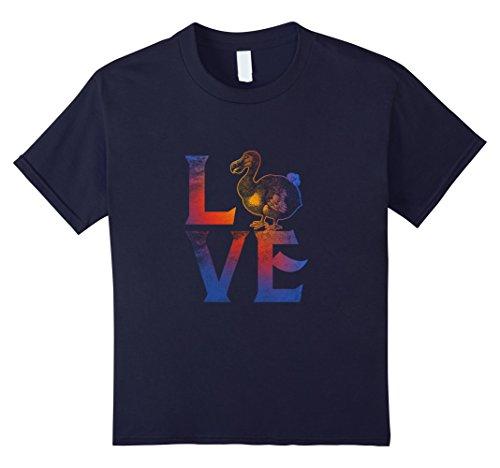 [Kids I Love Dodo Brid Wildlife Animal Tee Gifts Costume T Shirt 12 Navy] (Dodo Bird Costume)