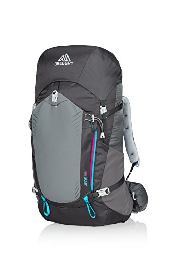 Gregory Mountain Products Jade 38 Liter Women's Backpack, Dark Charcoal, Medium (Gregory Hiking Backpack)