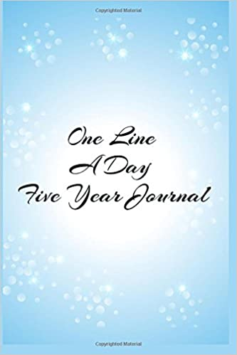 One Line A Day Five Year Journal: 5 Years Of Memories, Blank Date No Month, 6 x 9, 365 Lined Pages